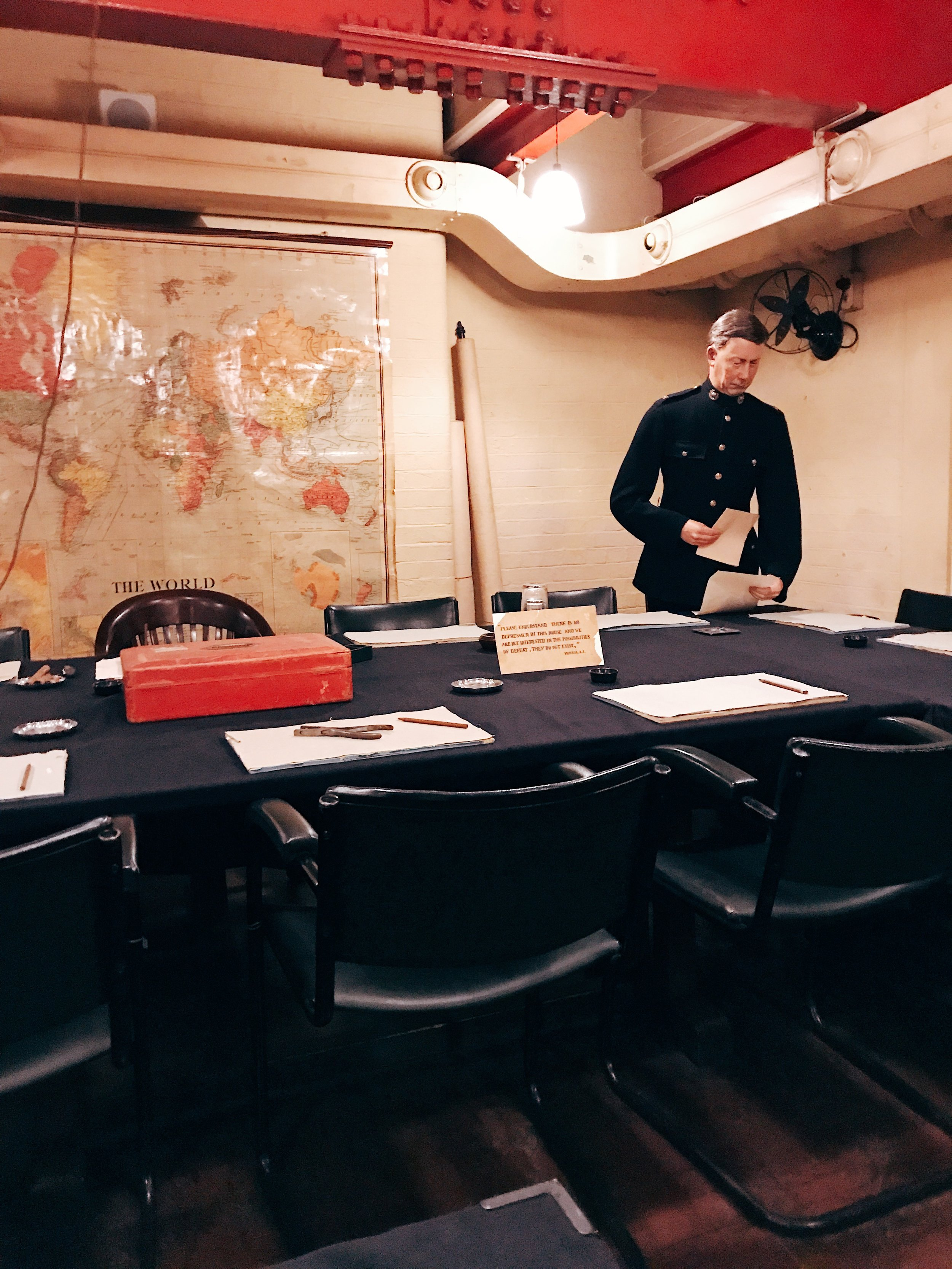 Image: Weekend in London - Churchill War Rooms