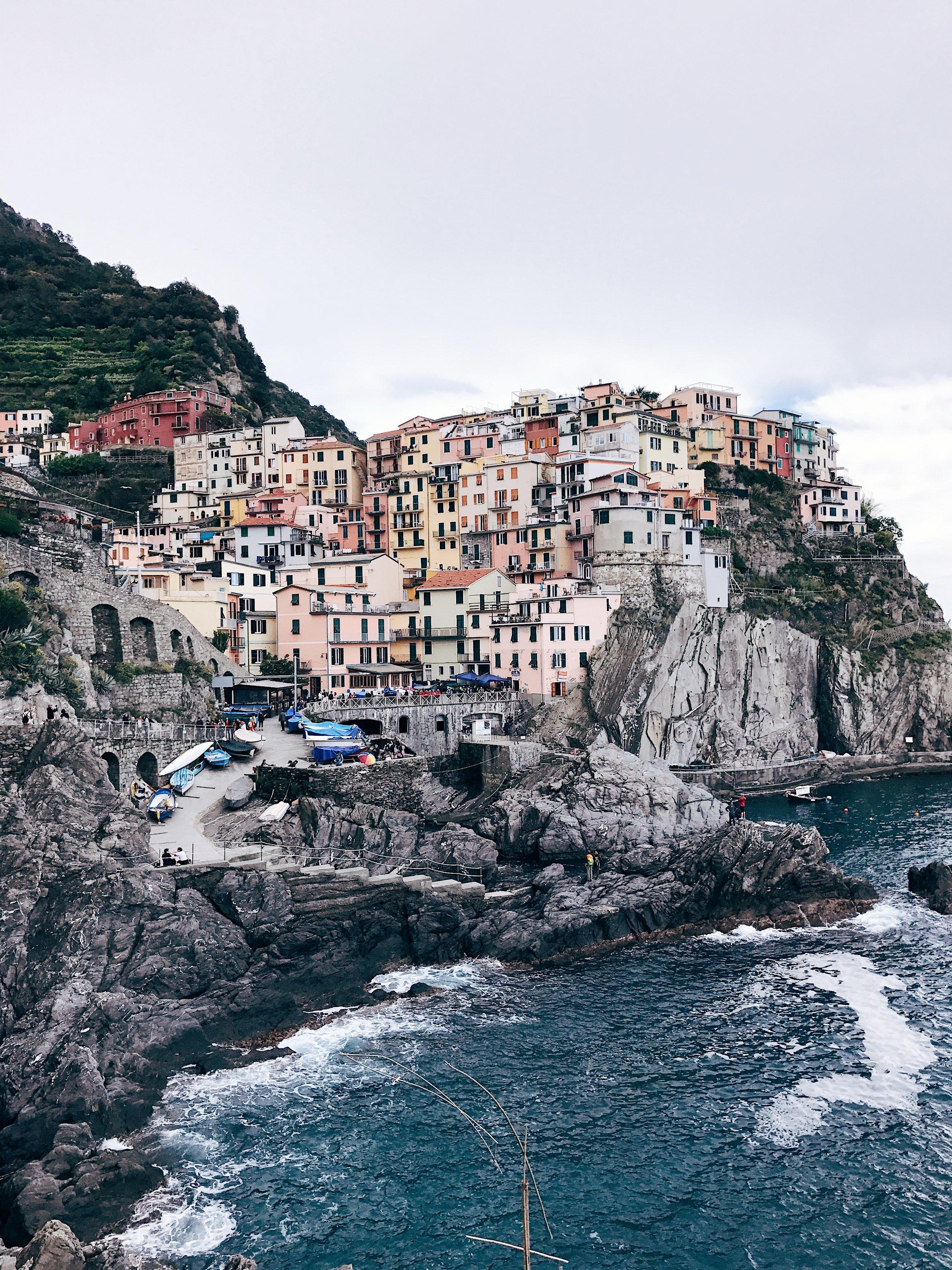Image: Where to Travel in 2018 - Cinque Terre - Manarola