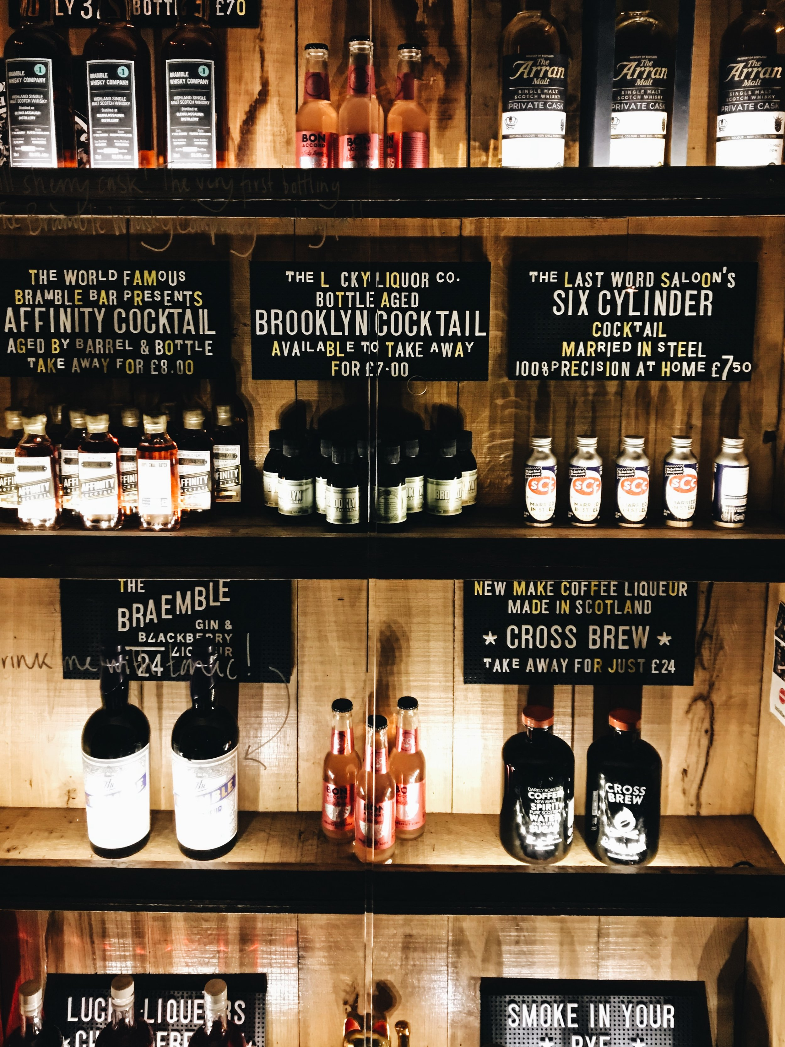 Lucky Liquor Co in Edinburgh
