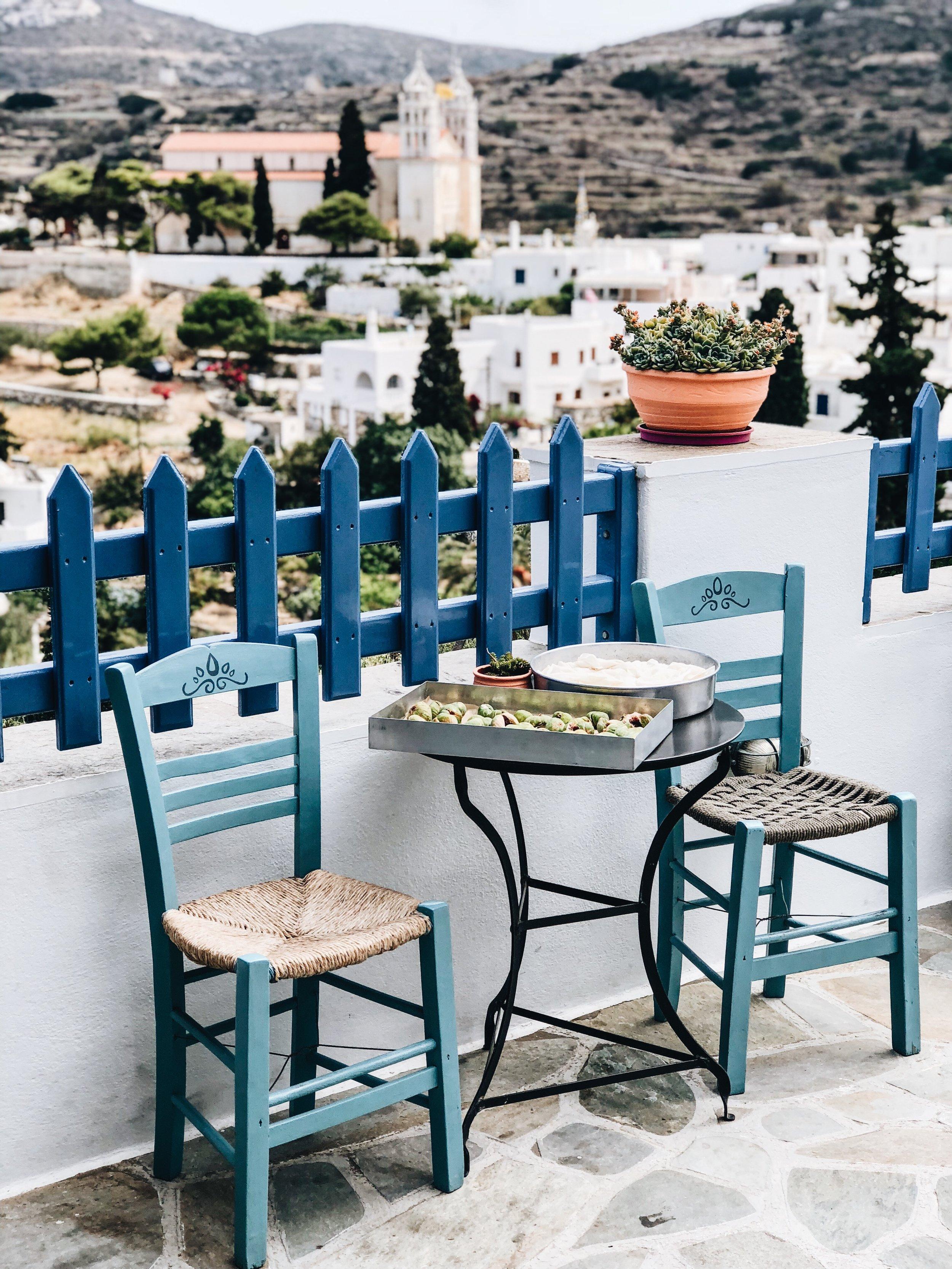 Geuseis Tis Sintrofias  in Lefkes, Paros