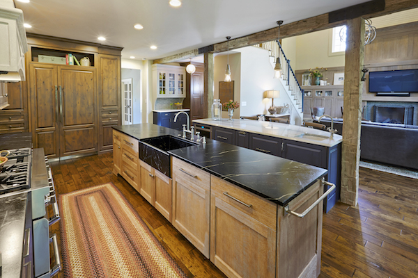 The 1 Reason You Don T Need A Work Triangle In Your Kitchen Evalia Design Llc