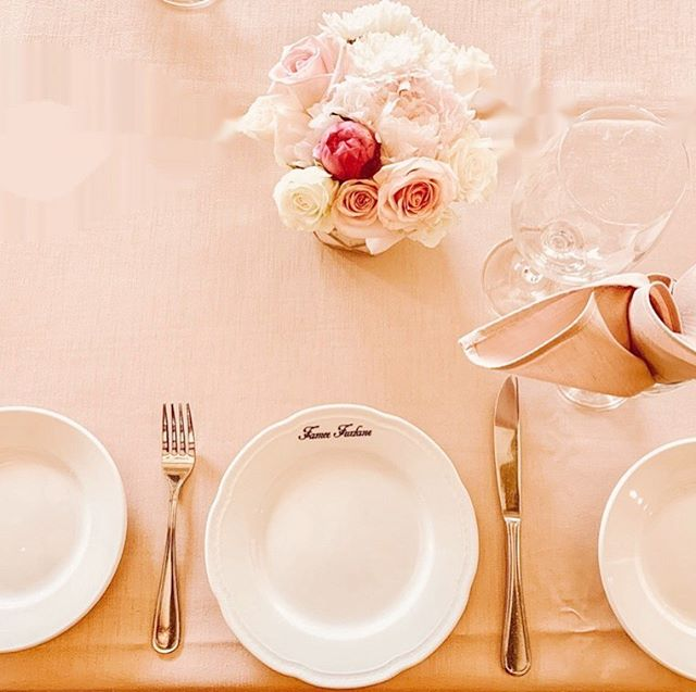 Blushing Over This Dainty Tablescape🌸