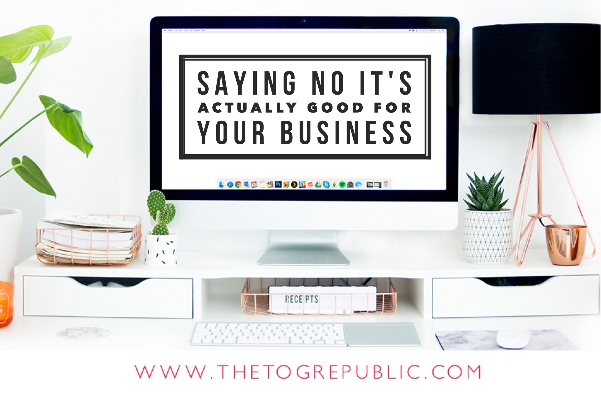 Saying no it's actually healthy for your business! Let me tell you why. http://thetogrepublic.com/blog/saying-no