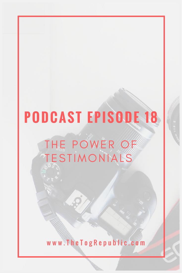 18: The Power of Testimonials