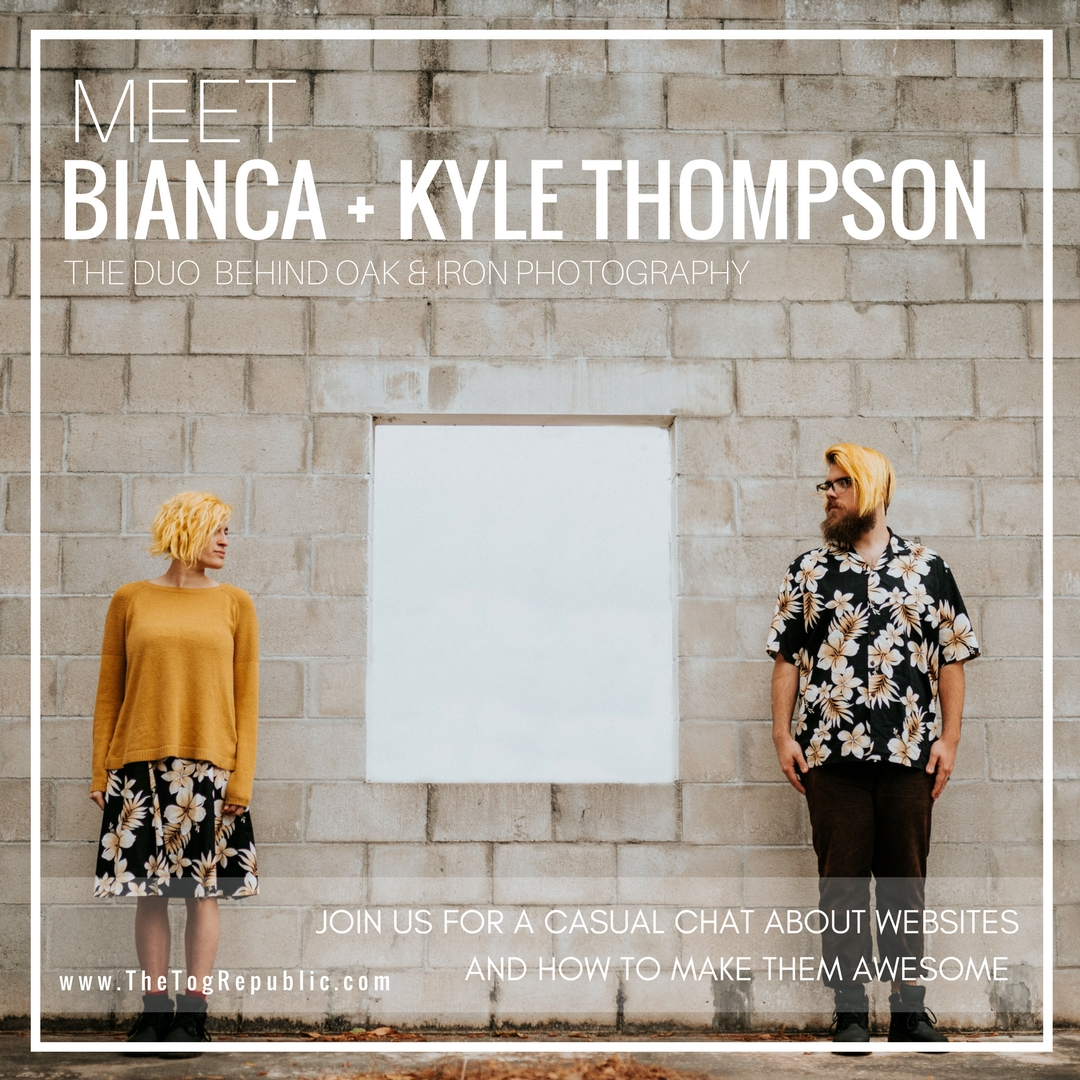 30: A Chat With Bianca + Kyle Thompson About Websites