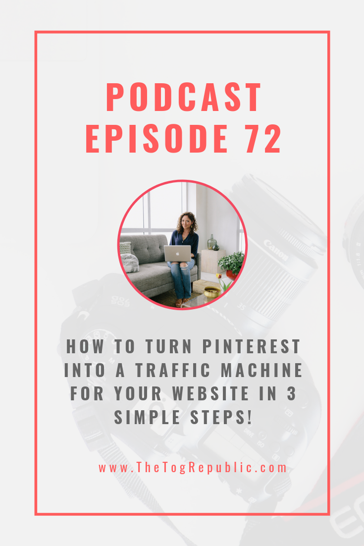 HOW TURN PINTEREST INTO A TRAFFIC MACHINE FOR YOUR WEBSITE IN 3 SIMPLE STEPS!