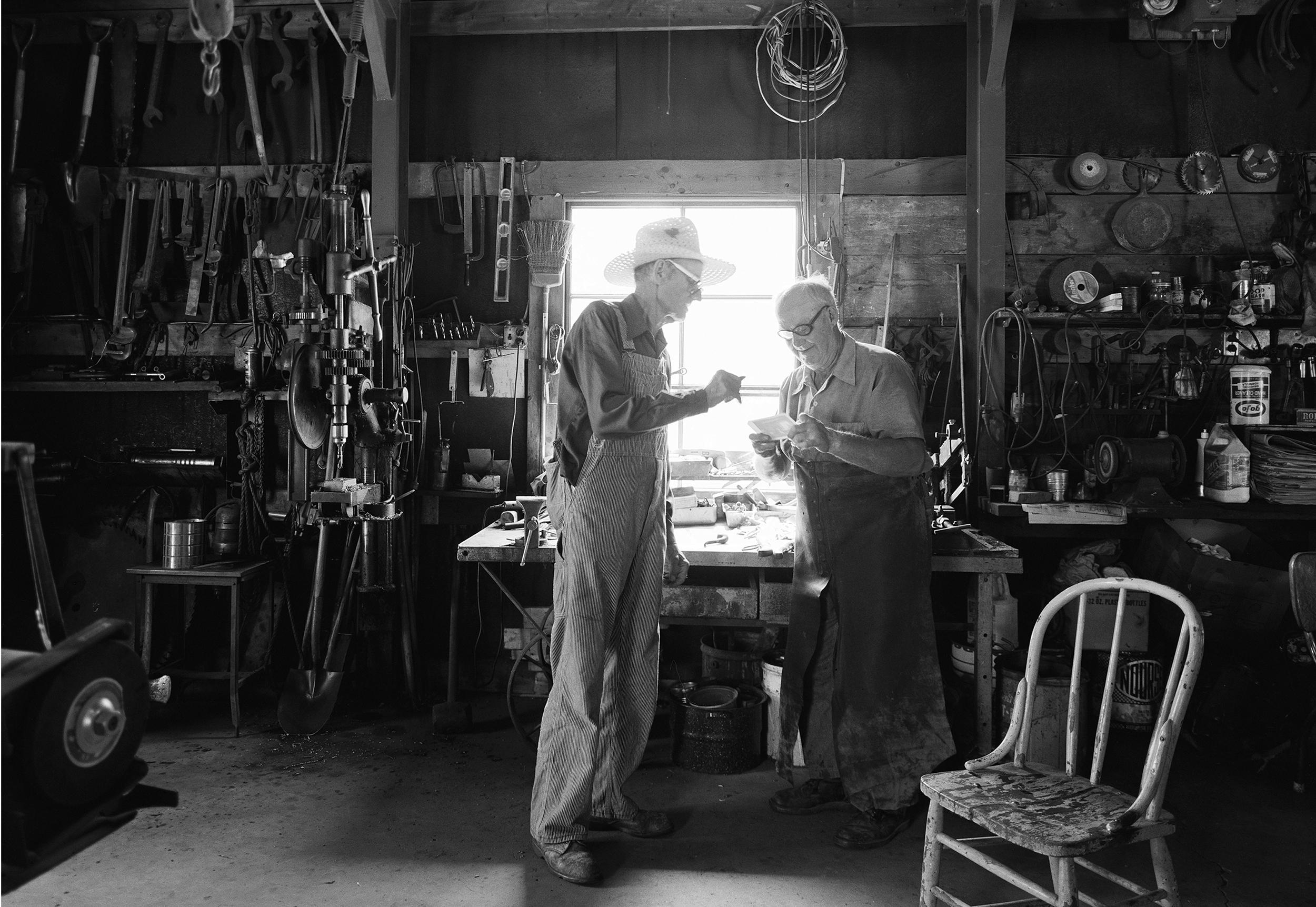 Grandad's Barn by Kimball Hall