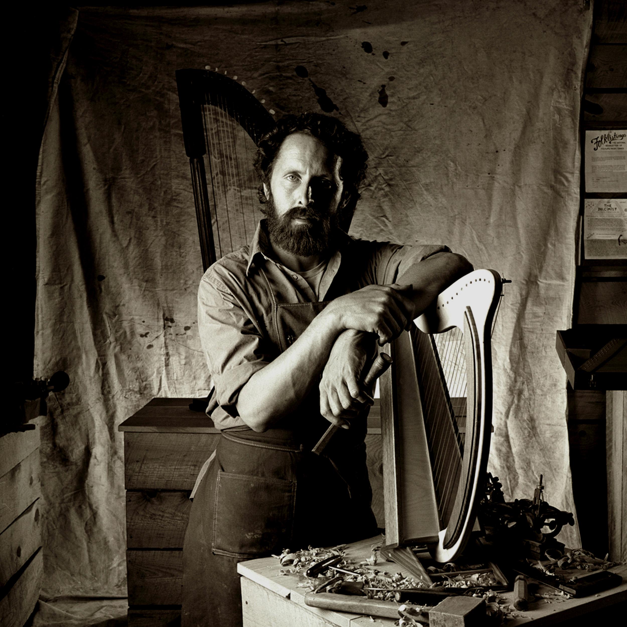 Kimball Hall Portrait of Dulcimer maker