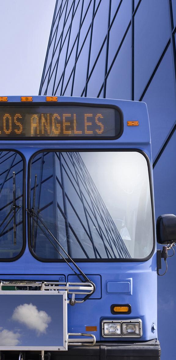 Big Blue Bus Los Angeles