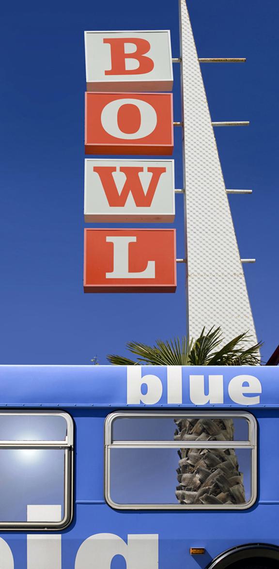 BIg Blue Bus Bowling