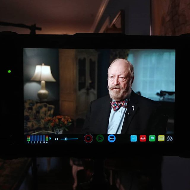 Check out the behind the scenes of this shot in stories. @canonusa @aputuretech @atomos_news . .  #filmmaking #behindthescenes #film #setlife #lighting #documentary #storyhood #interview #aputure