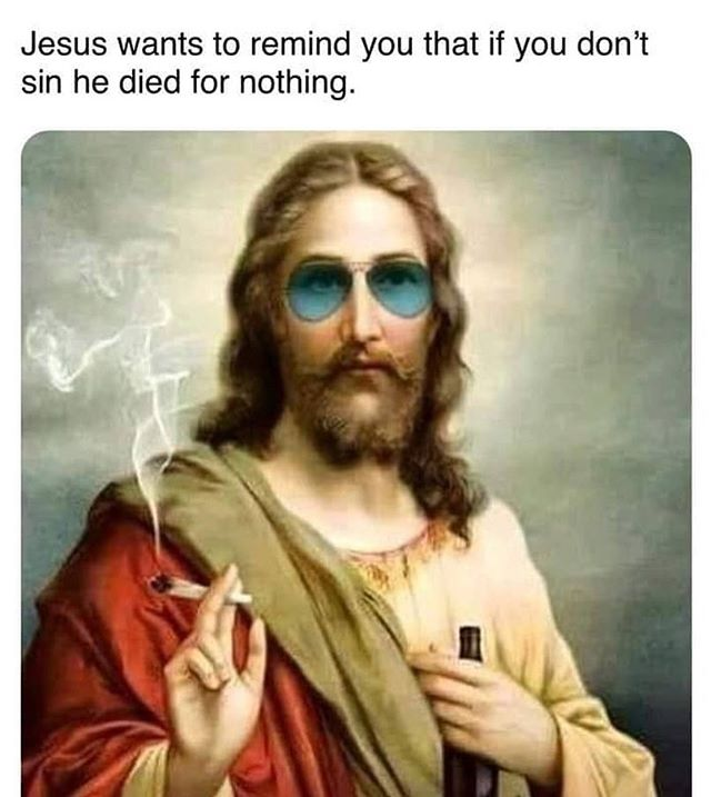 No filter needed. Will post something spiritually reverent tomorrow. For now, have a laugh 😂 #passover #easter #yeshua #420 #atthesametime