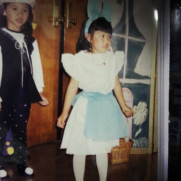 Dorothy from the Wizard of Oz in Pre-k at the Seward Park Coalition Day Care Center. 1994.