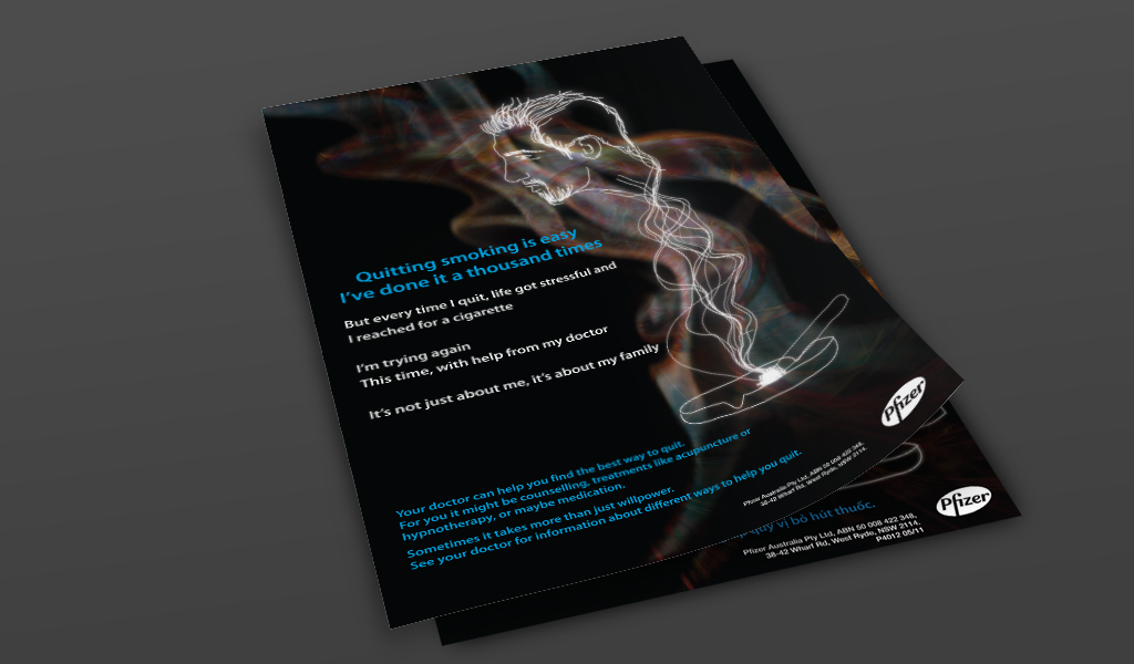 Pfizer Australia -'Up In Smoke' Anti-smoking Campaign