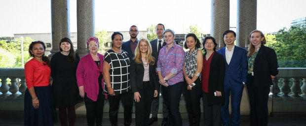 Speakers at the International Student Forum
