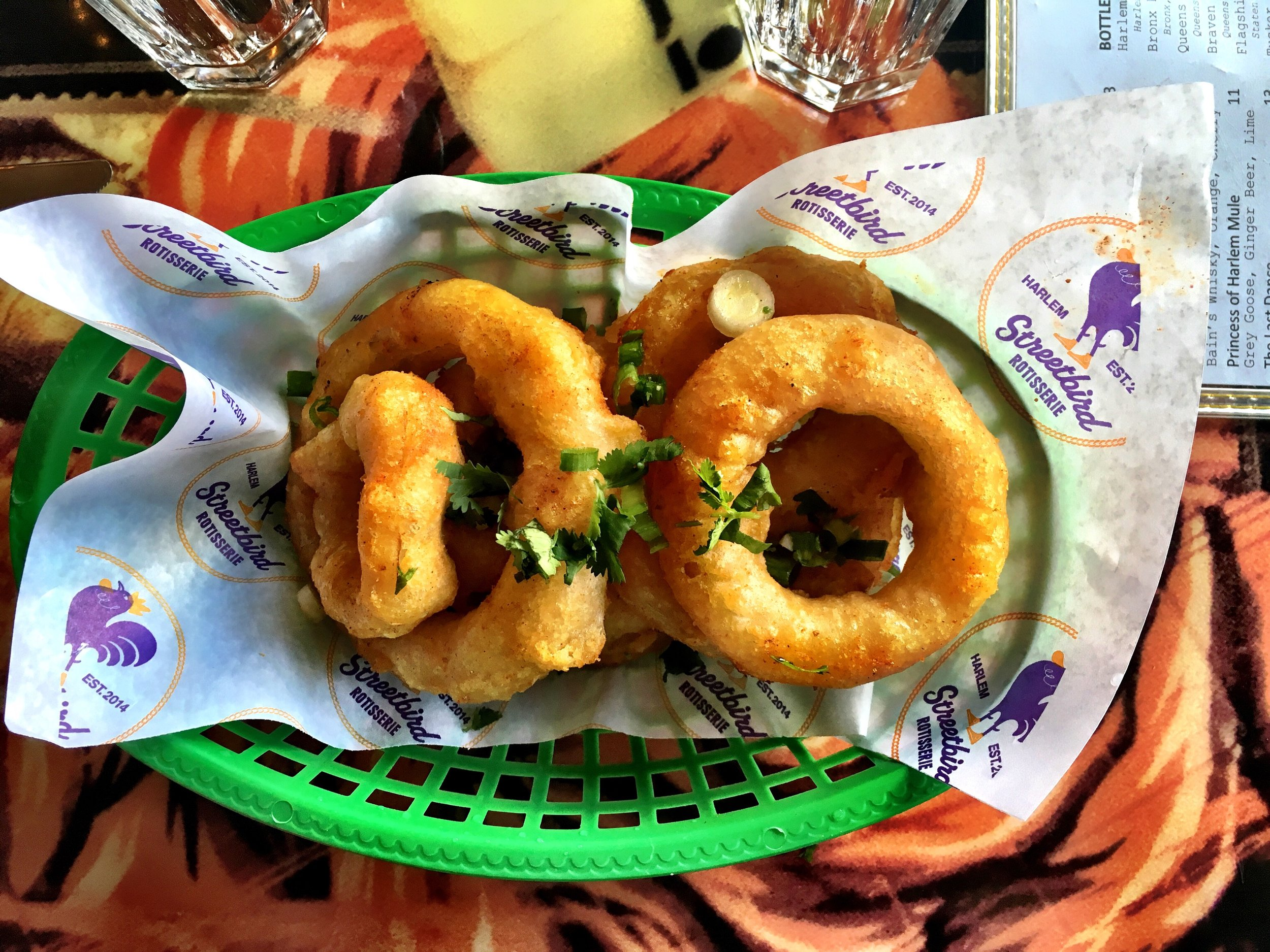 Onion Rings with Herb Salad, Recipe by Marcus Samuelsson