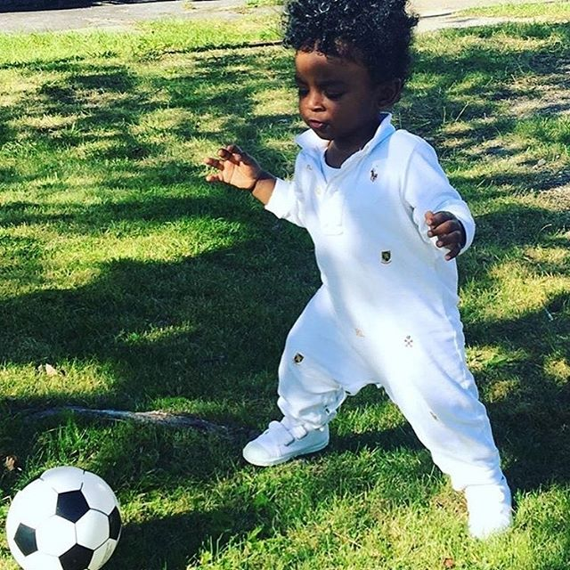 Zion's been after the soccer ball since Day 1. @nycfc, you got room for one more? #tbt #throwback #nycfc #soccer