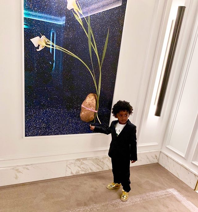A little Zion looking a lot dapper. #dapper #zion #son #family
