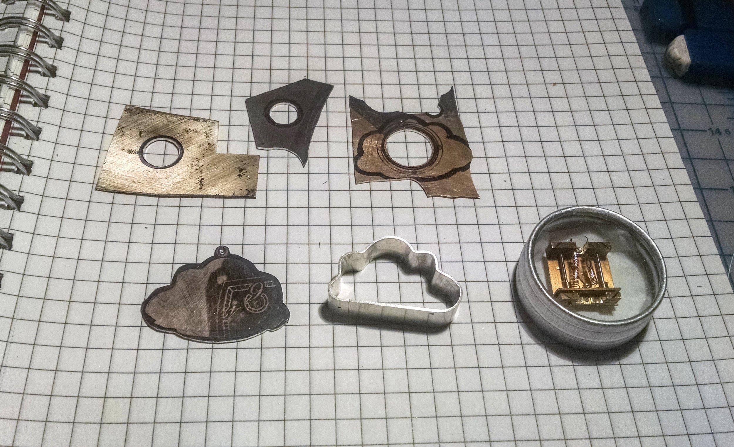 Raincloud Automaton parts