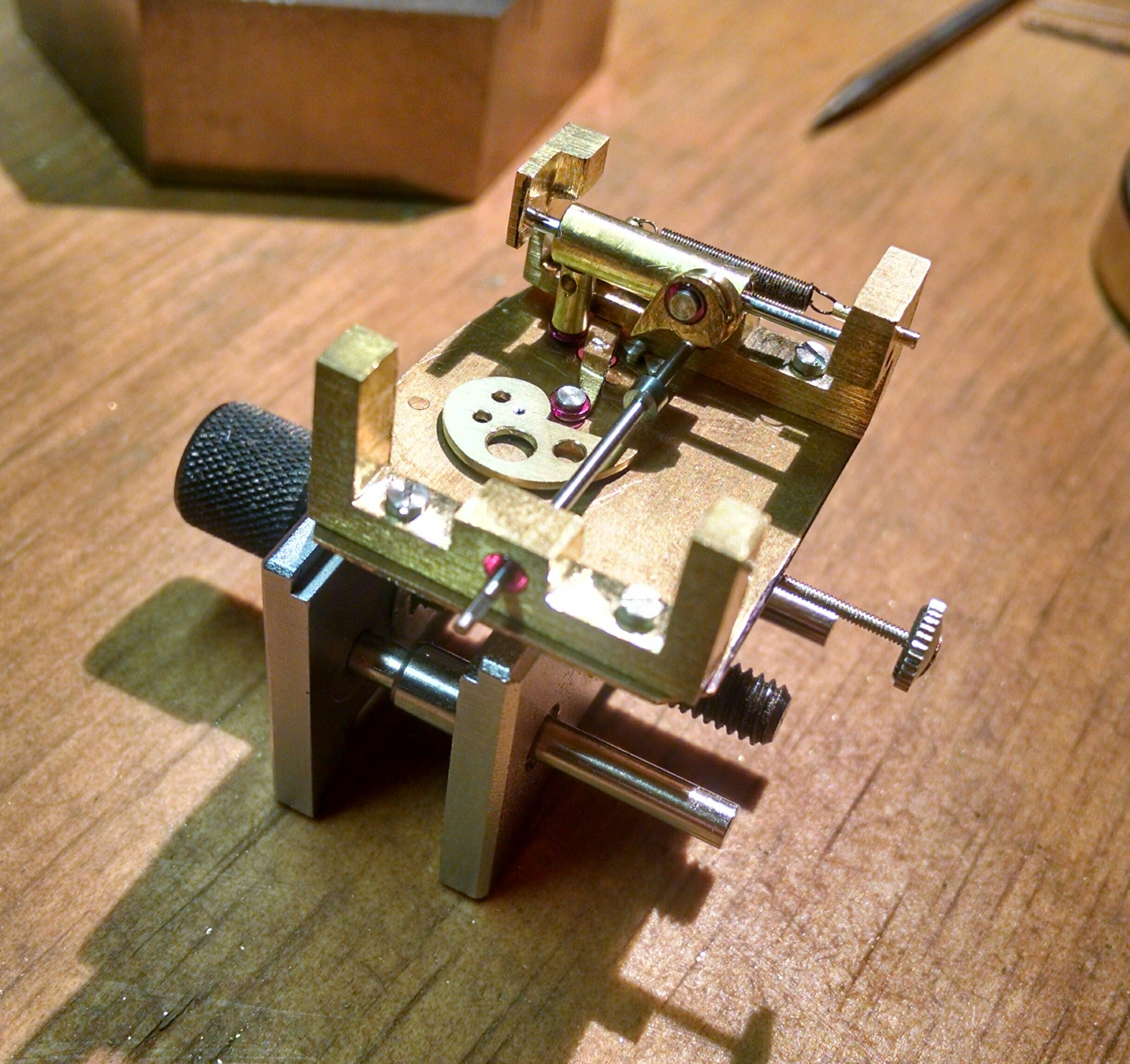 Eyeball Automaton Mechanism