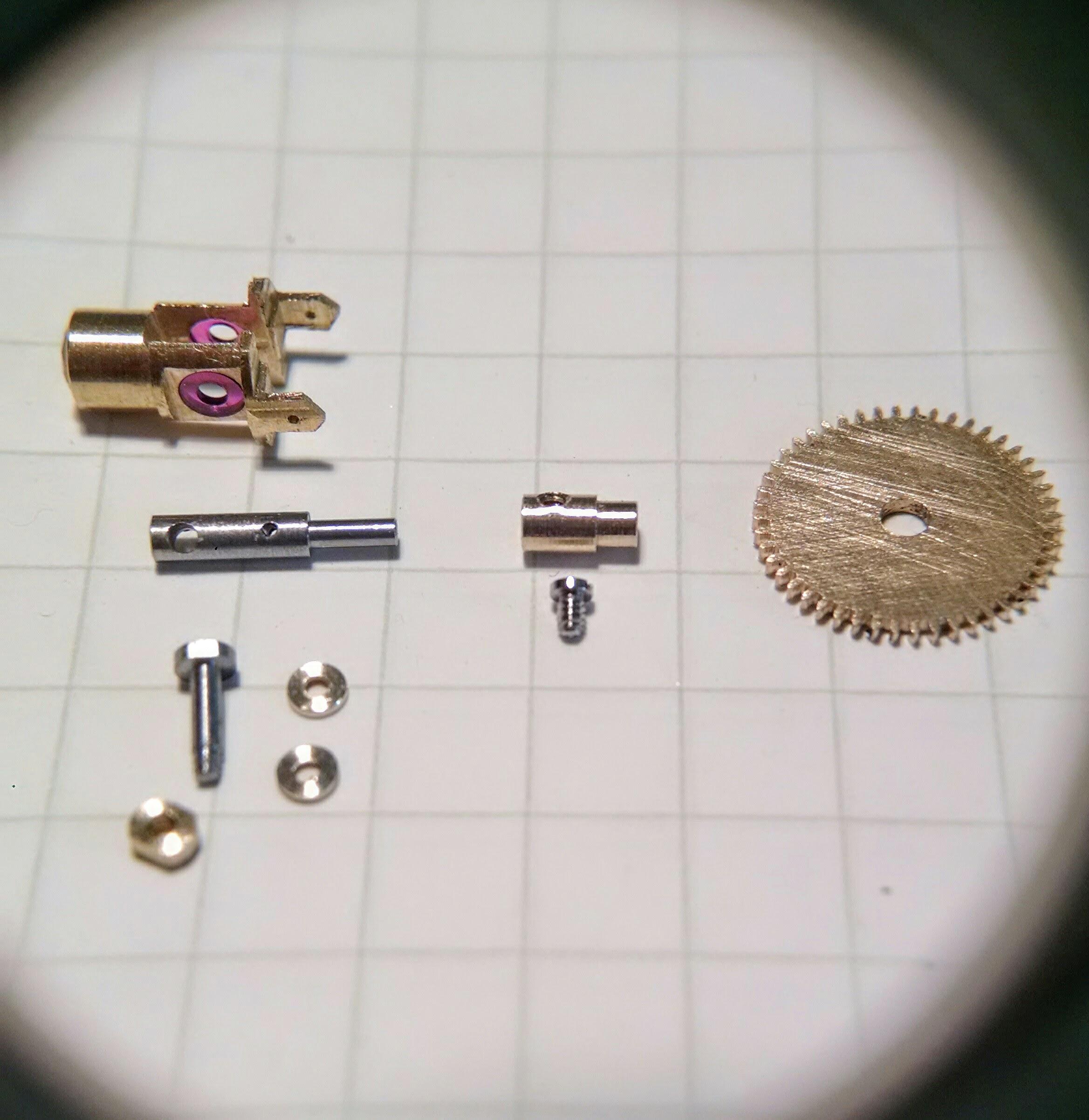 Chameleon Eye Mechanism Parts