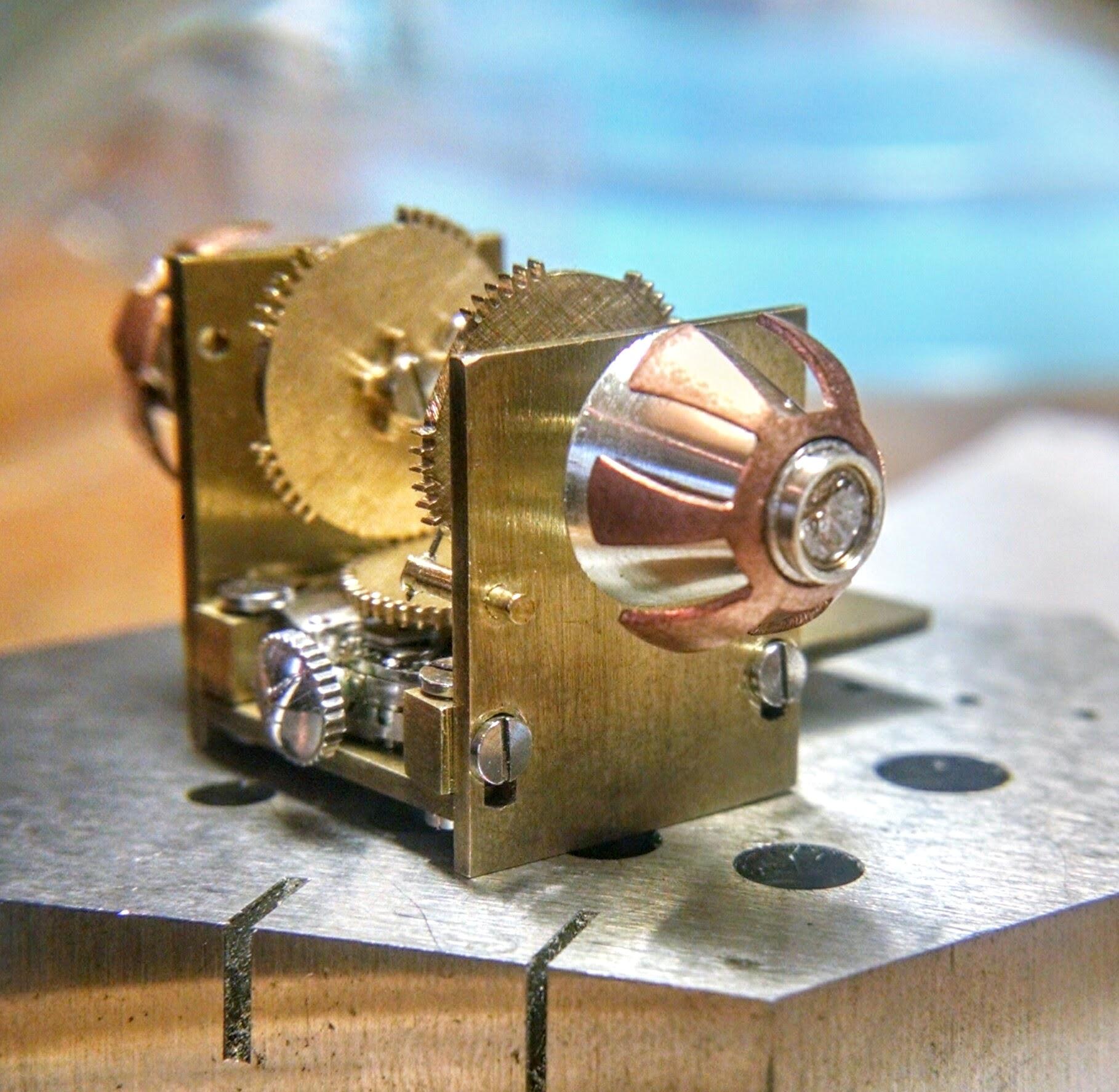 Chameleon Eye Mechanism