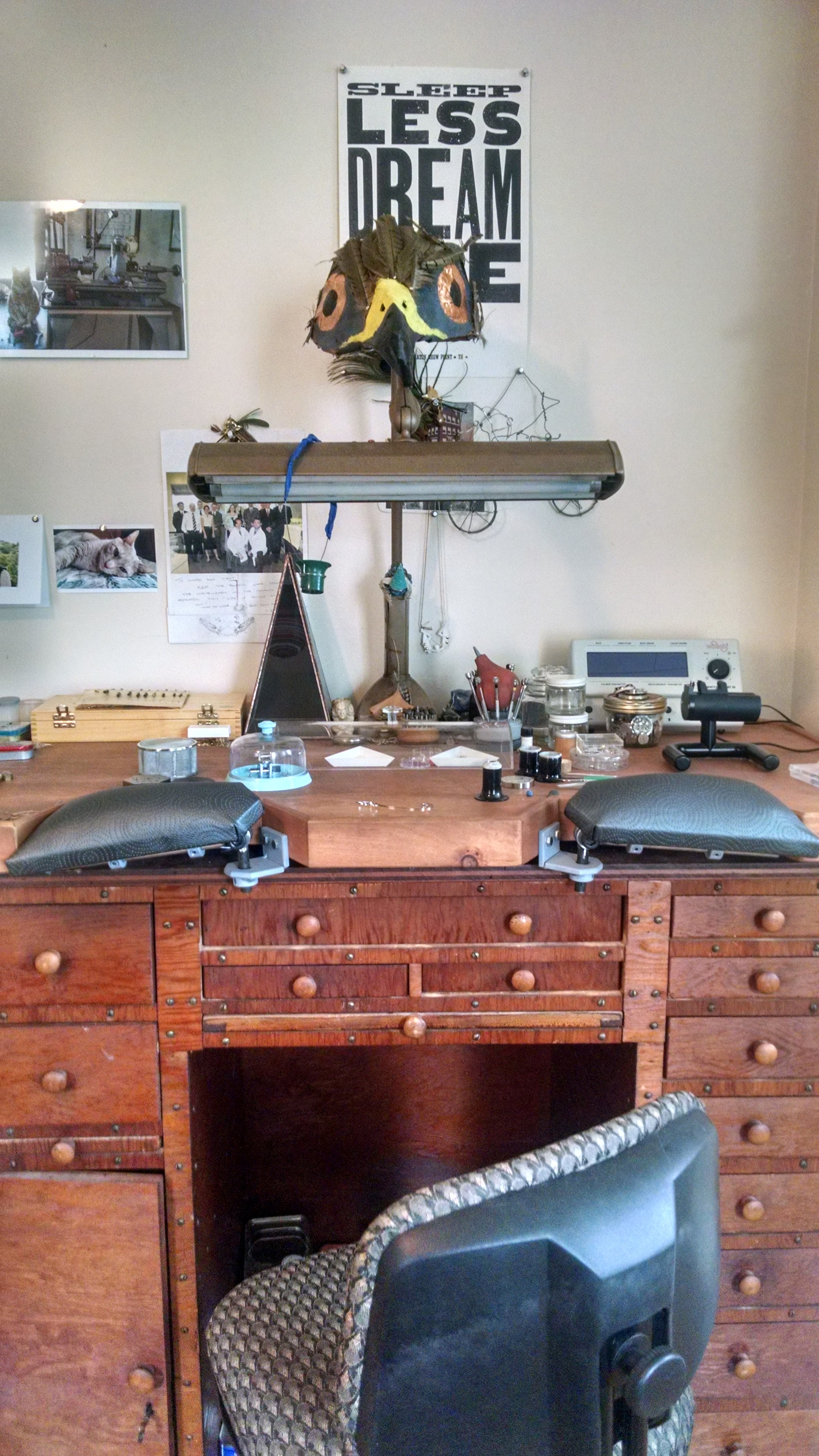 My Watchmaker's Bench