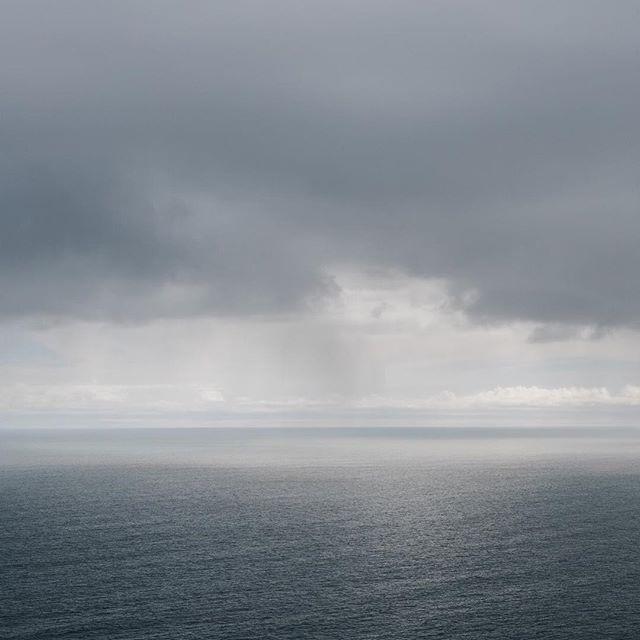 West coast winter, grey and breezy.
