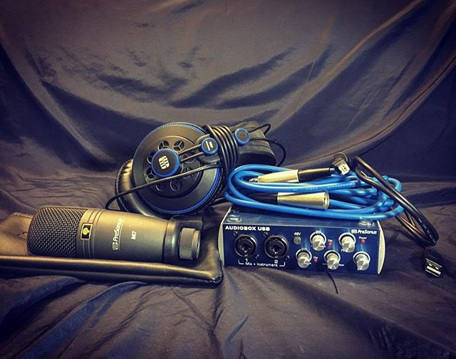 The gear that started it all... #tbt . . . . . #atx #atxmusic #producer #producerlife #musicproducer #start #work #filmscore #recordingengineer #microphone #recording #art #headphones #composer