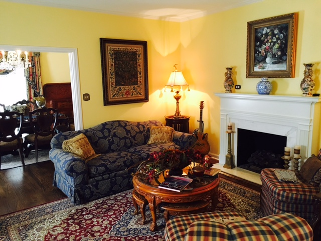 Jefferson House Bed and Breakfast - Parlor