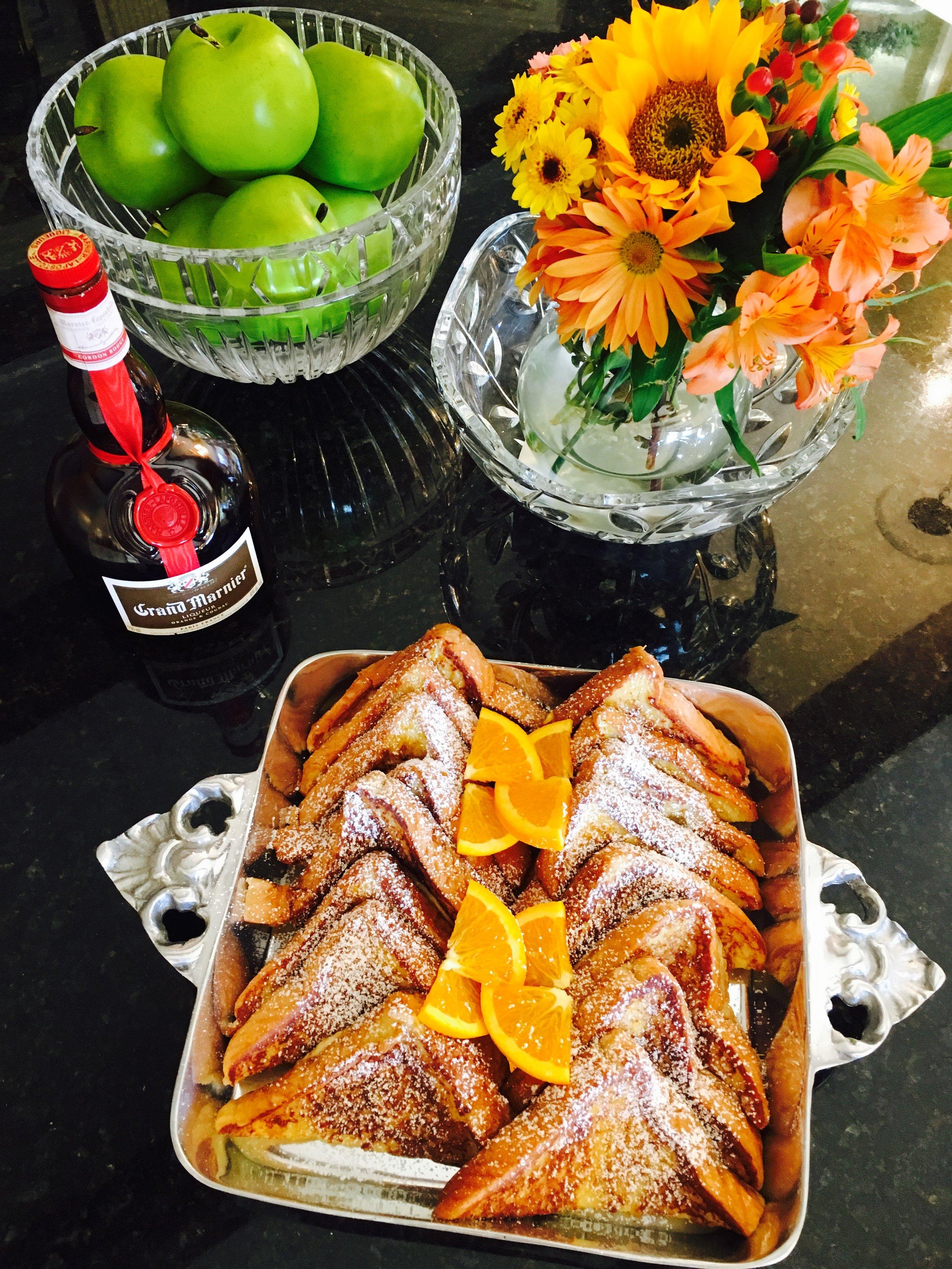 Signature Breakfast - Grand Marnier French Toast