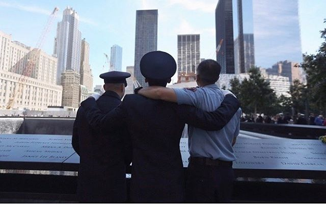 Please take a moment today to pray for families of the brave men and women we lost on this day. Every day is so precious, and we need to remember these Hero's that came together and fought selflessly for our protection. Always remember, never forget. #september11