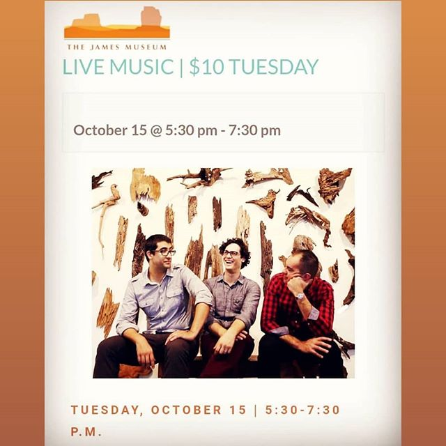 Tues, Oct 15th w @laluchaband @jamesmuseum in downtown @stpetefl // 530-730p