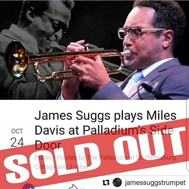 thurs, 10/24 @mypalladium with @jamessuggstrumpet ☆ sold out 🎃