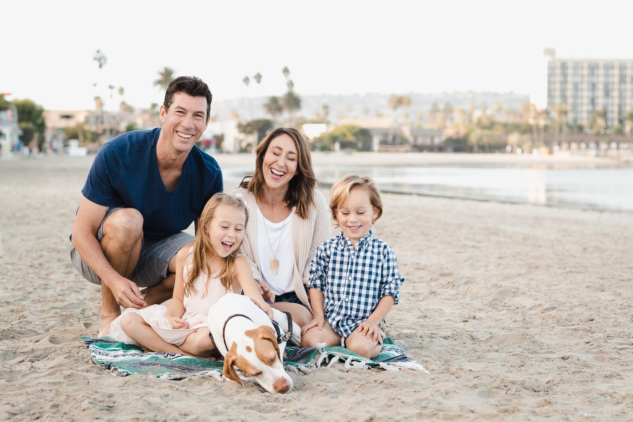 San Diego Vacation Family Photos