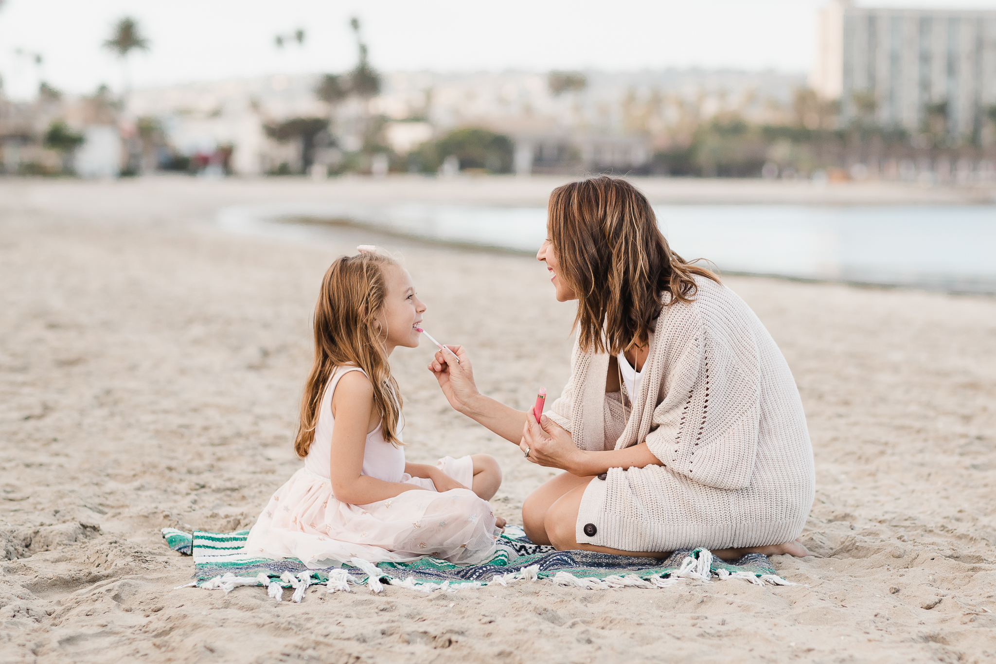Staycation family photos in San Diego