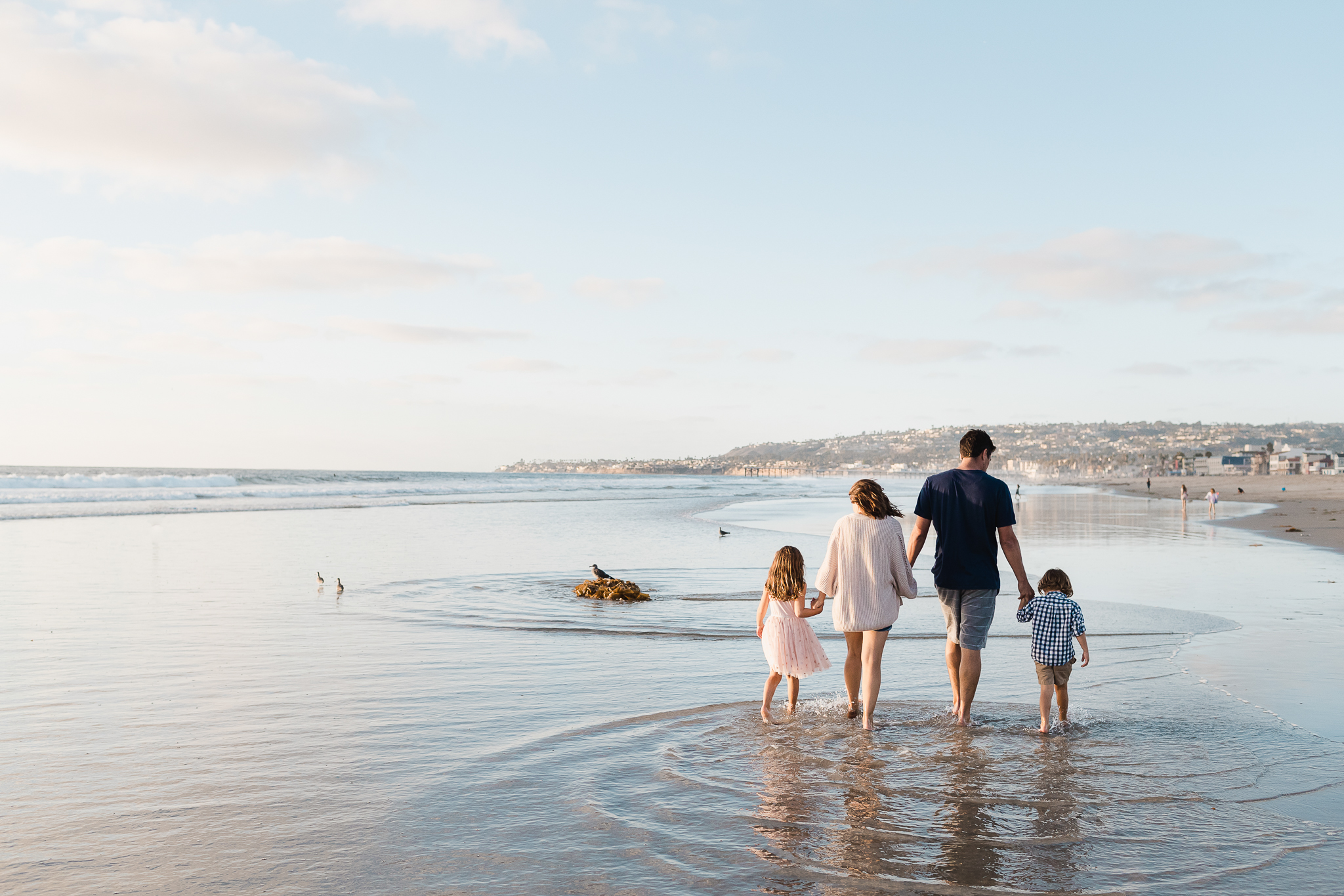 Family vacation in Mission Beach