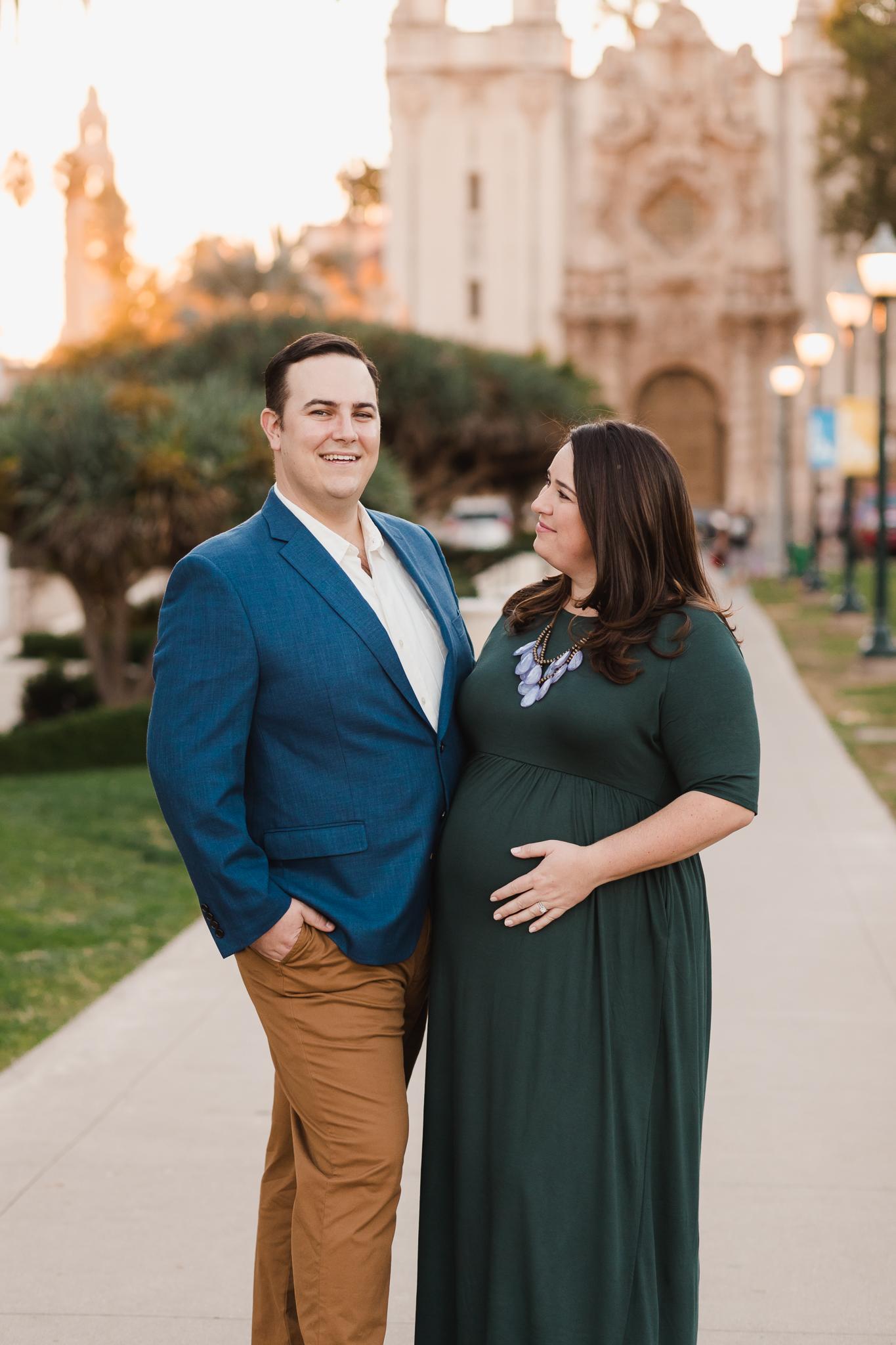 Maternity Photos at Balboa Park