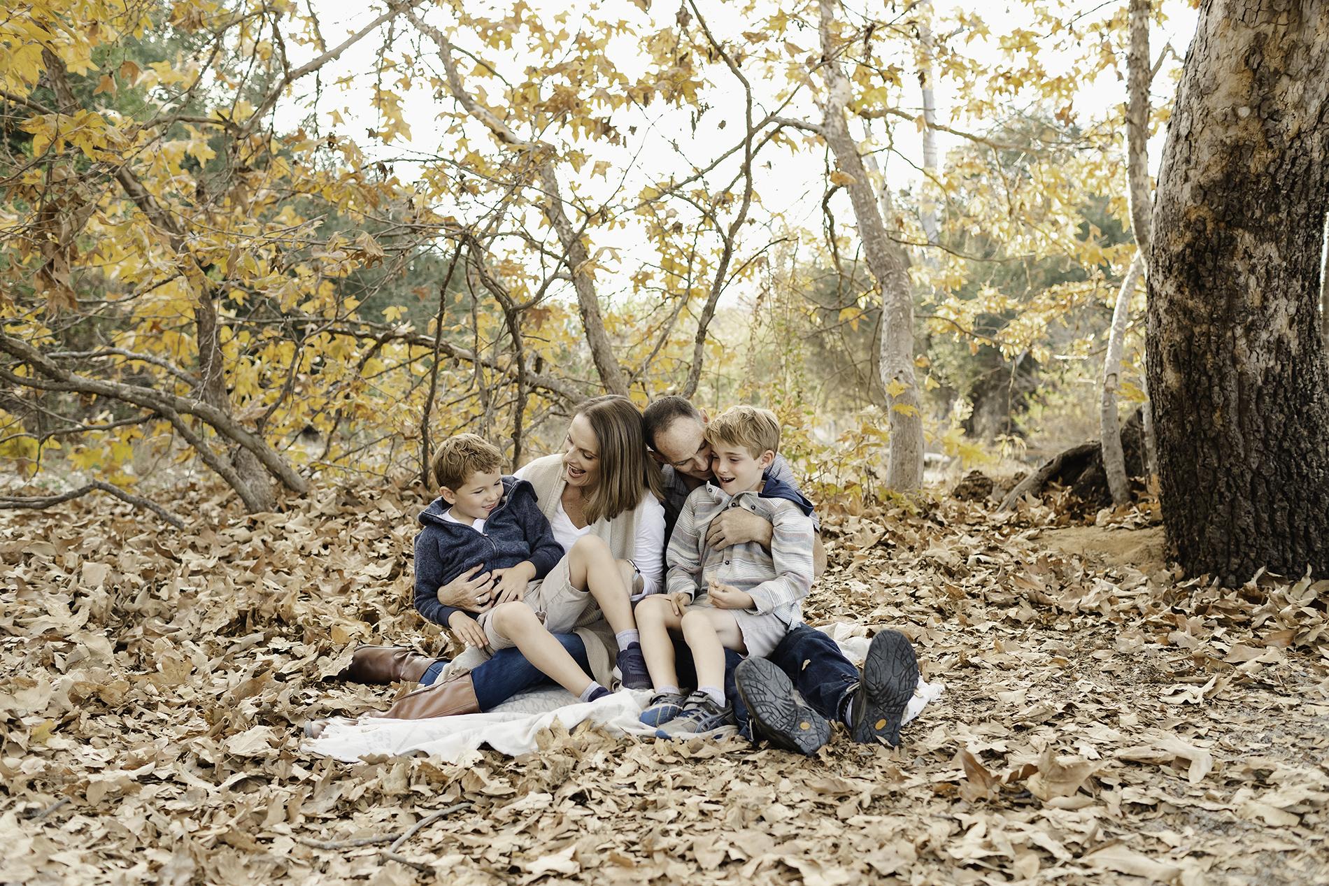 FAMILY PHOTOS IN MARIAN BEAR PARK, LA JOLLA, CA