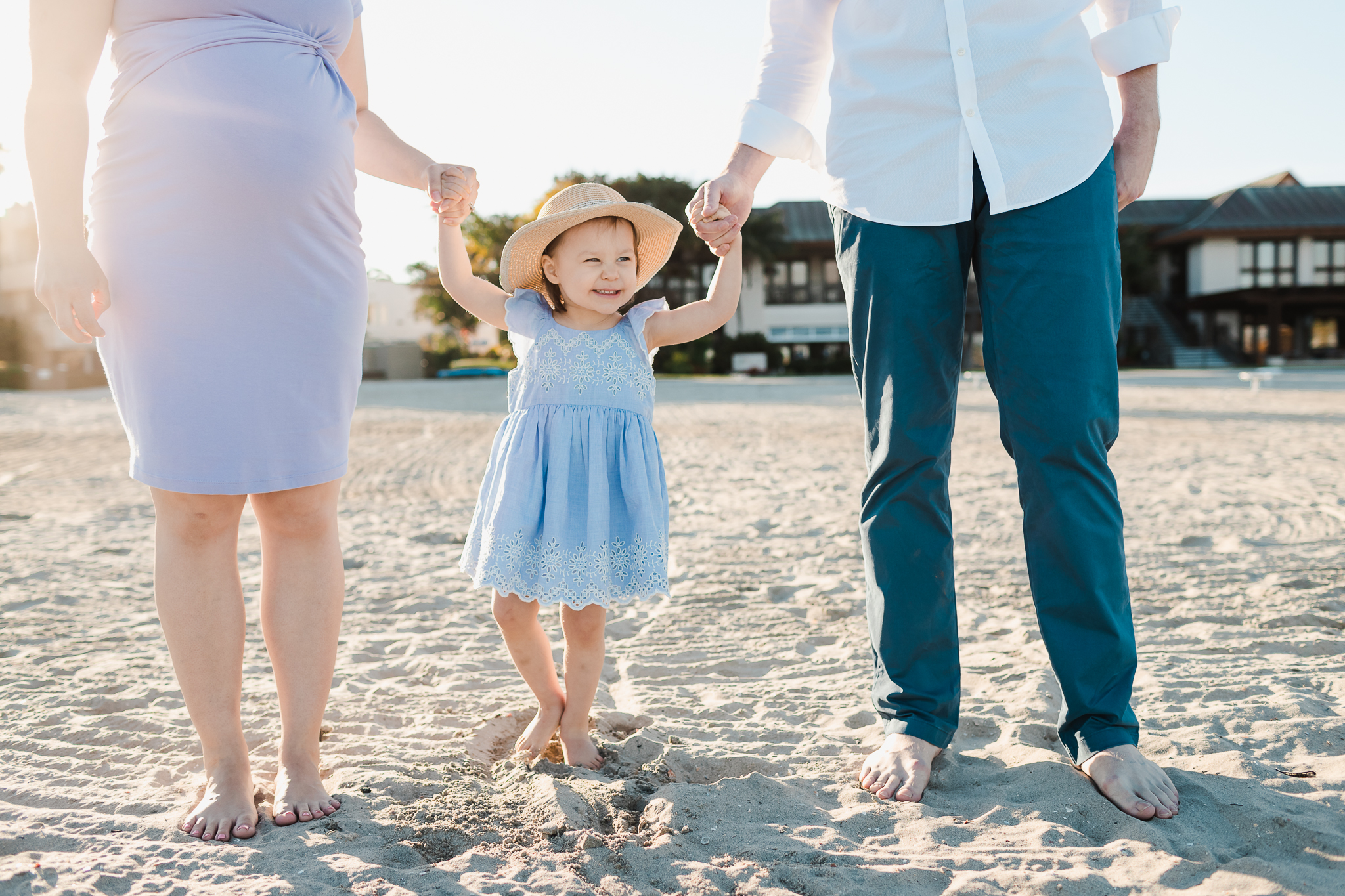 San Diego baby moon photography session Catamaran Resort and Spa