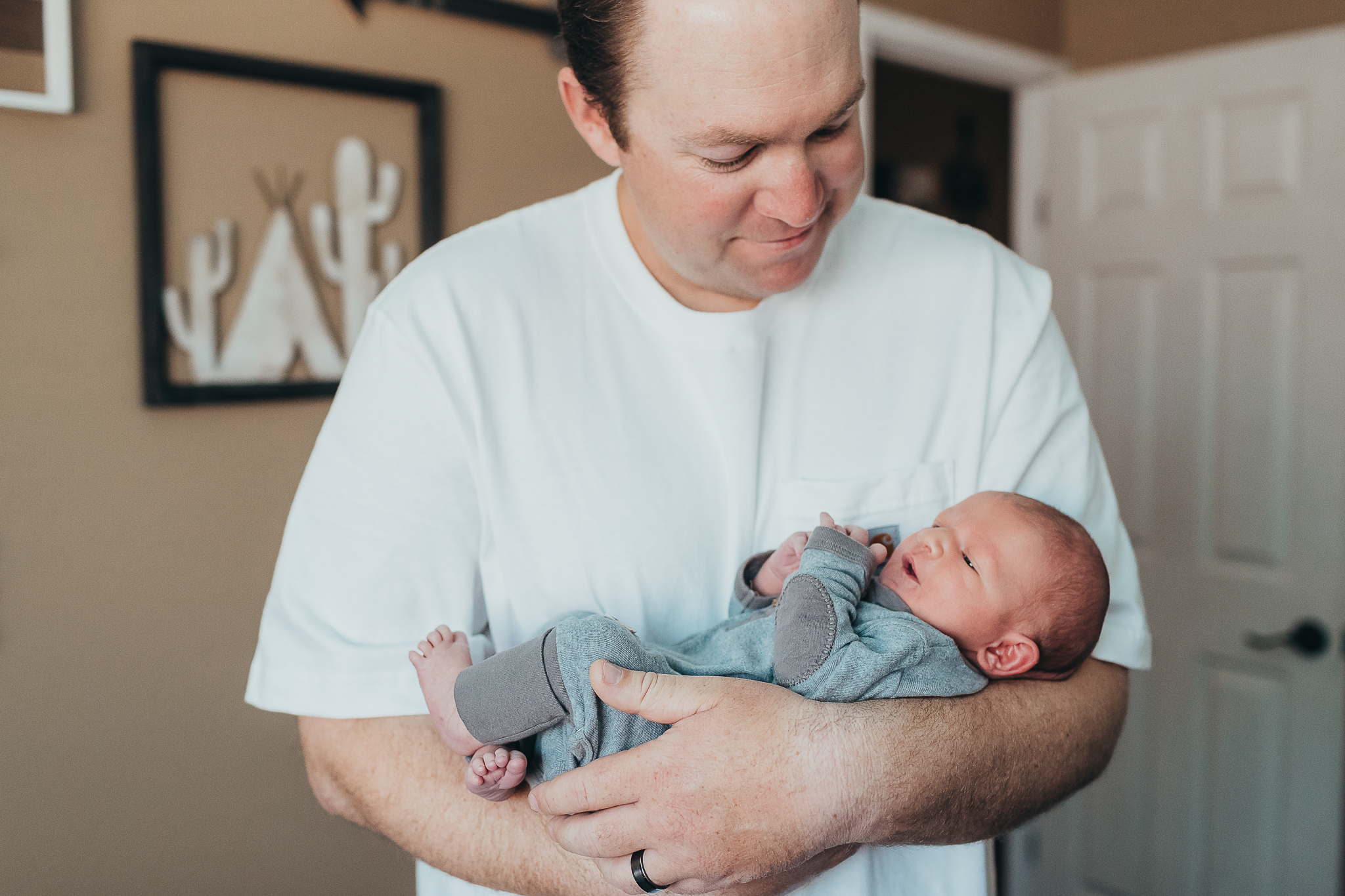 San Diego Newborn Lifestyle Photography
