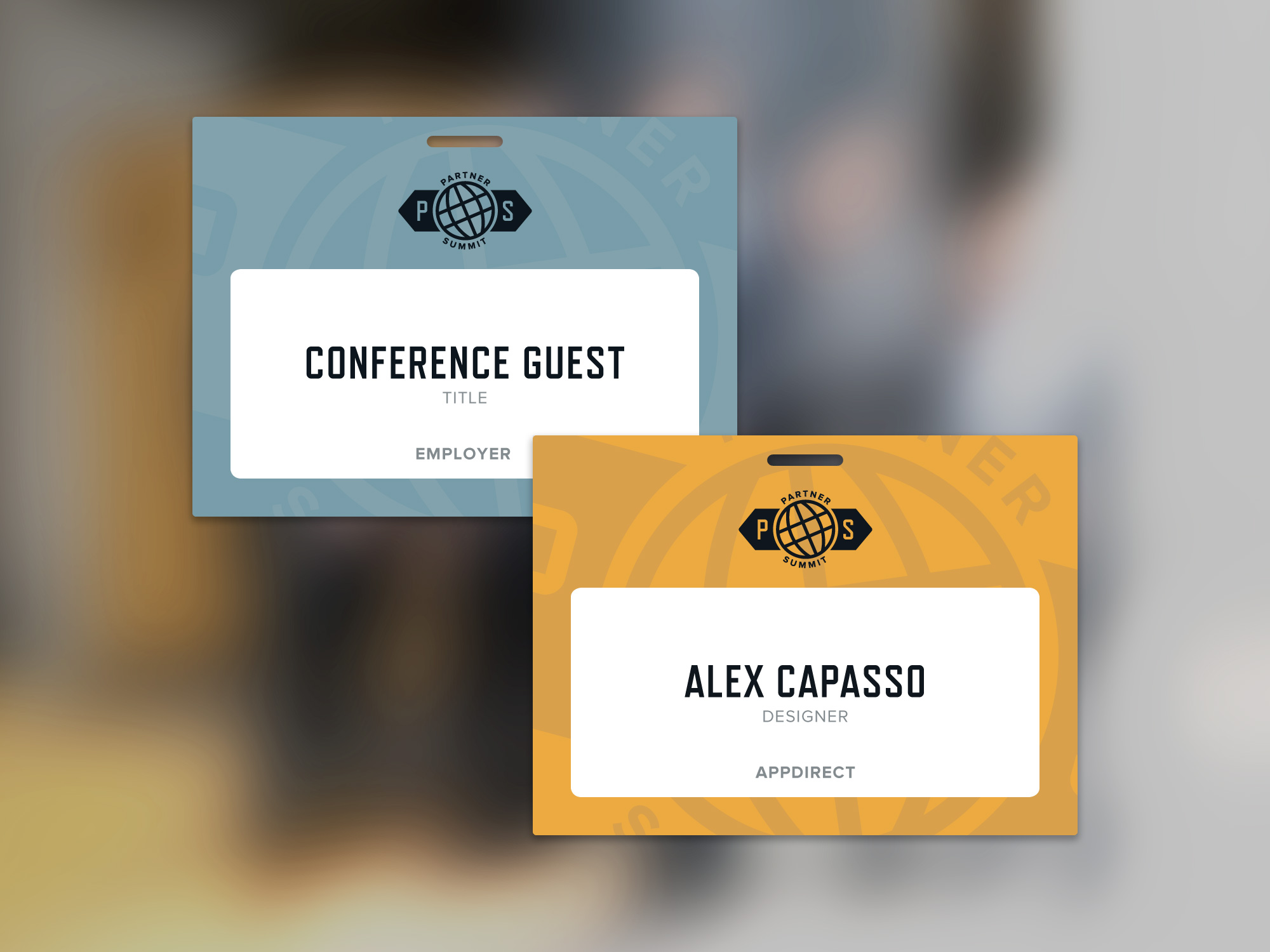Guest and Staff Badges