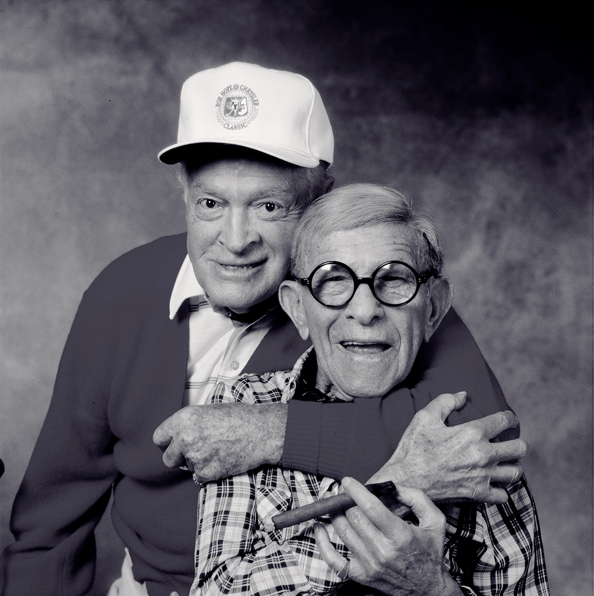 George Burns and Bob Hope