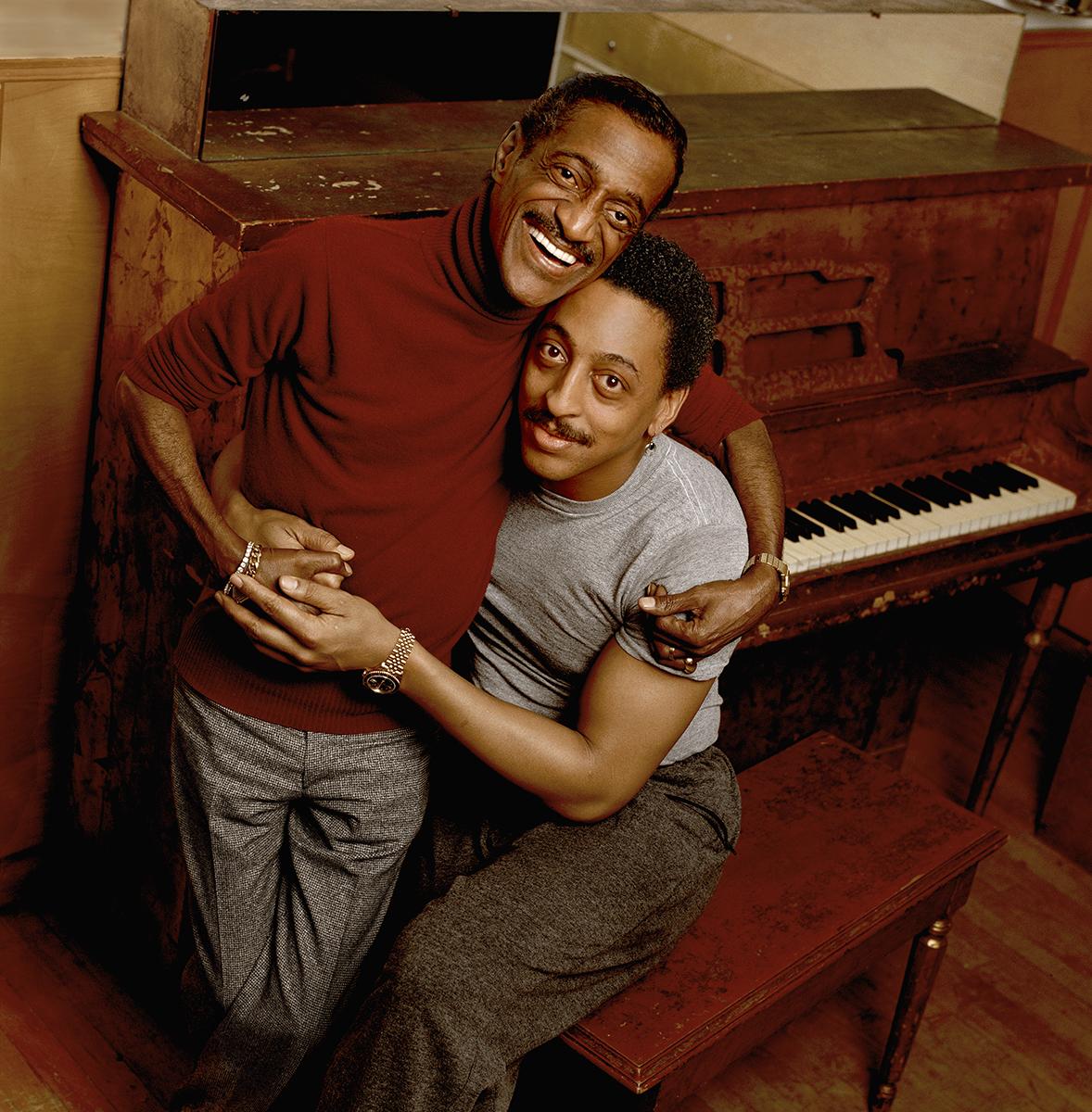 Sammy Davis Jr. and Gregory Hines