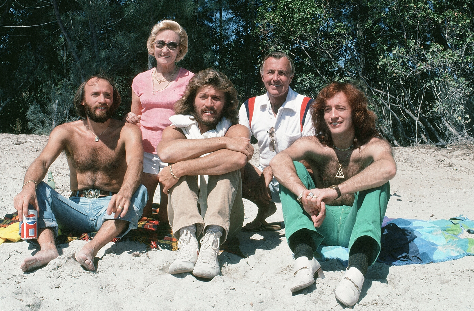 Bee Gees and Parents