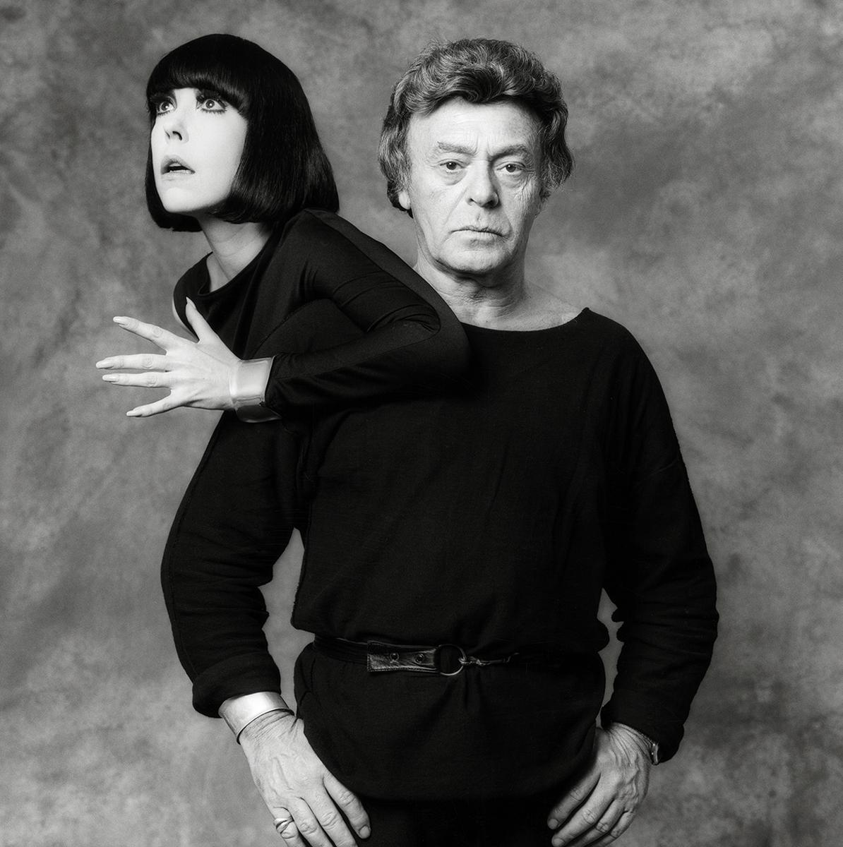 Peggy Moffitt and Rudi Gernreich