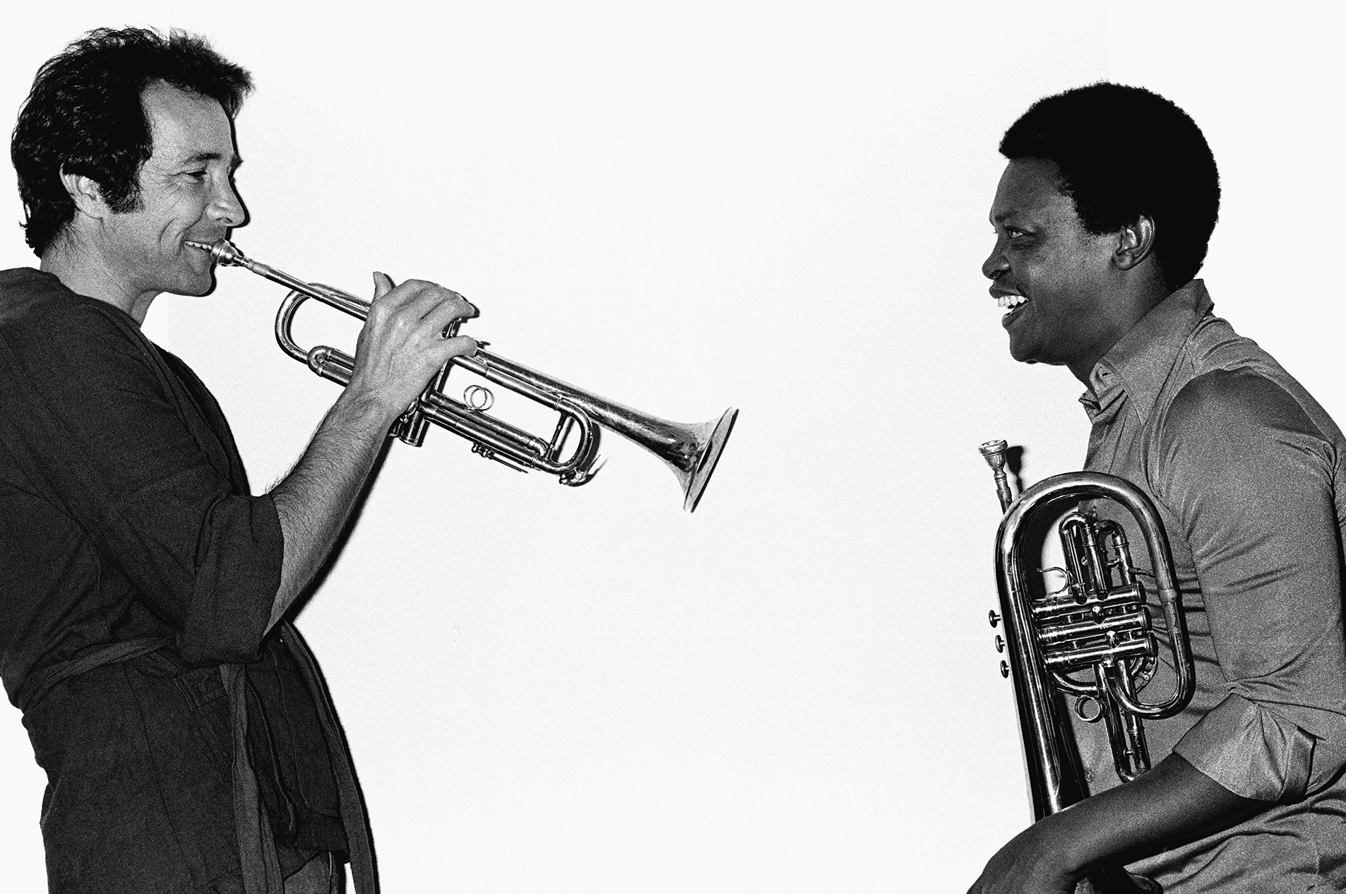 Herb Alpert and Hugh Masekela