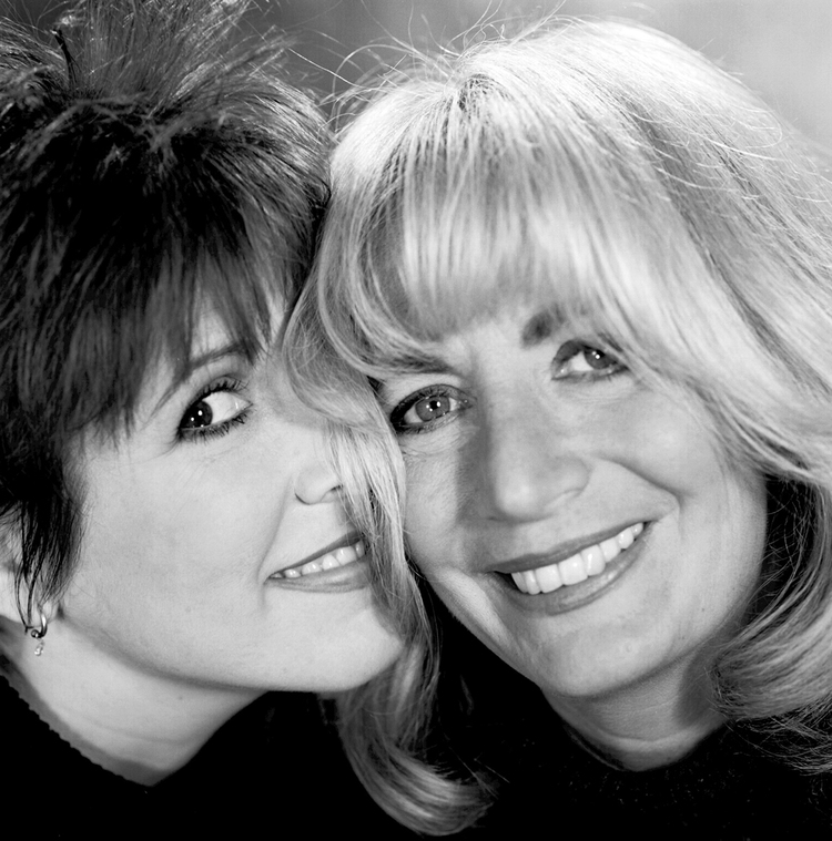 Carrie Fisher and Penny Marshall