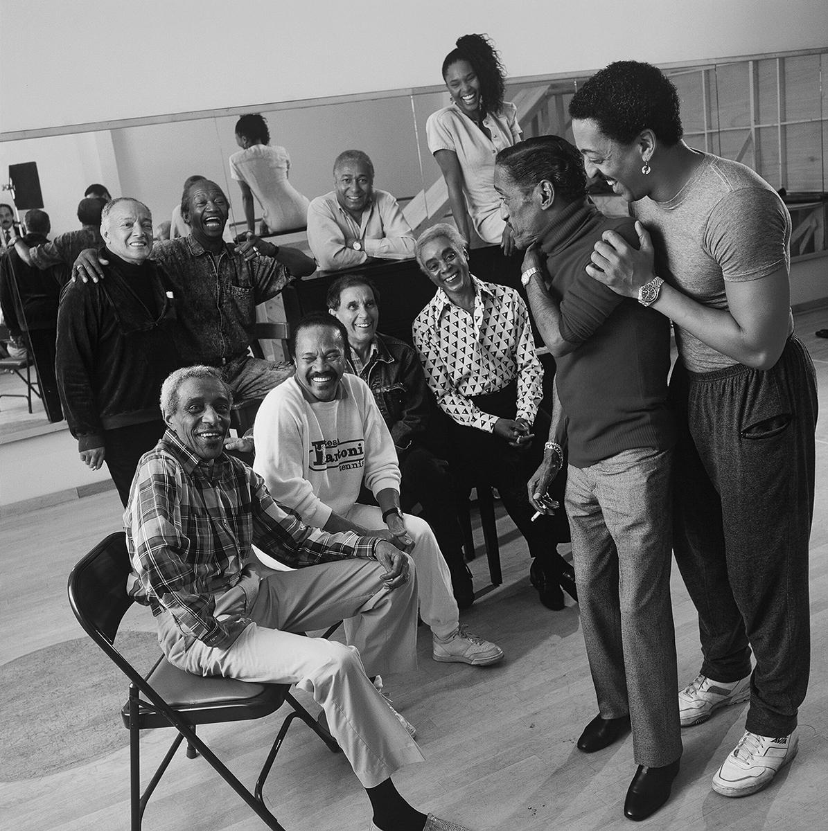 Sammy Davis Jr, Gregory Hines, Harold Nichols and Bunny Briggs