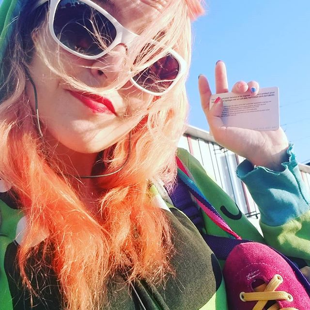 LA & waiting for a bus like a magic skate dragon  #redheads #red #LA #imadragon #color #skatelife #publictransportation #wheels #california #puffpuffpass